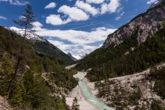 Blick in die Hochebene der Isarquelle im Karwendelgebirge.
