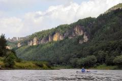 2007 Elbe  Elbsandsteingebirge