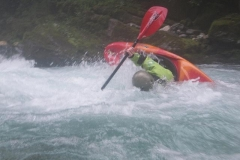 Wildwasserfahrt nach Slowenien