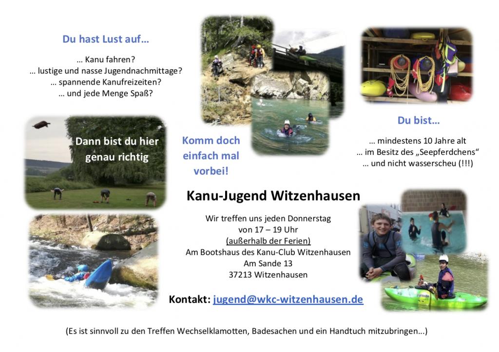 Kanu-Jugend Witzenhausen